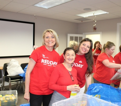 Cancer Comfort Kit  fill with Keller Williams