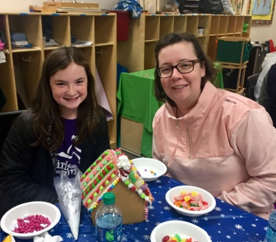 Cancer Connect Gingerbread Houses
